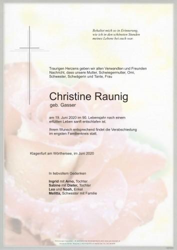 Christine Raunig