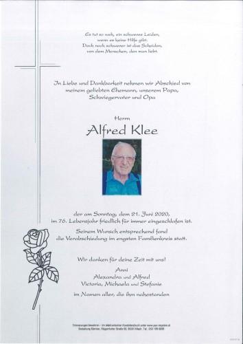 Alfred Klee