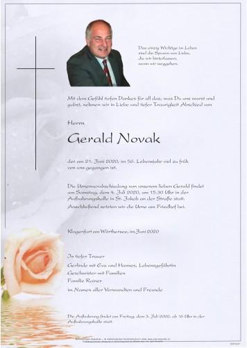 Gerald Novak