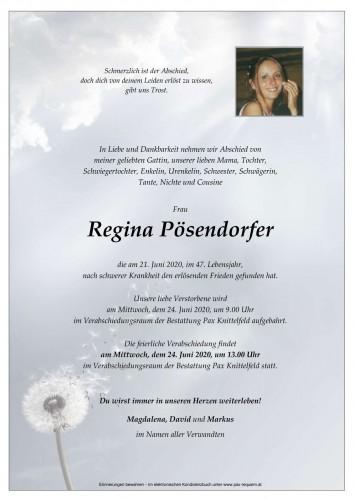 Regina Pösendorfer