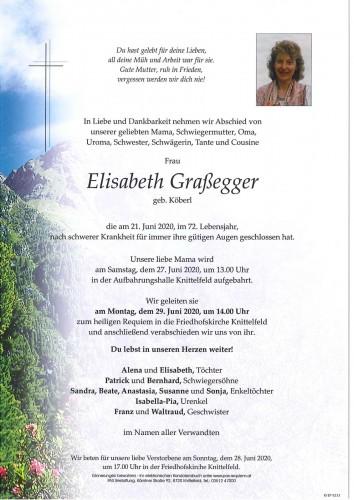 Elisabeth Graßegger geb. Köberl