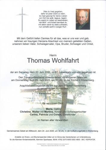 Thomas Wohlfahrt
