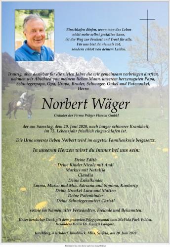 Norbert Wäger