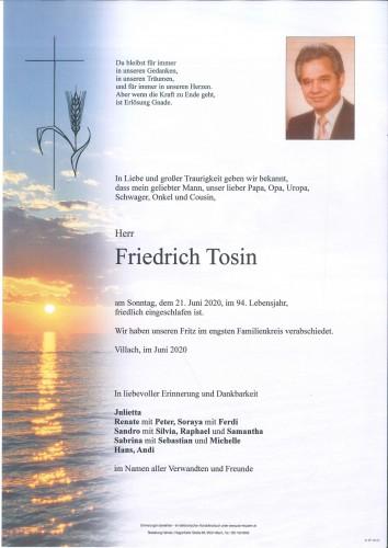 Friedrich Tosin