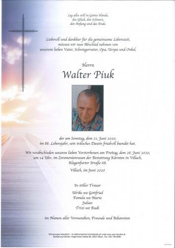 Walter Piuk