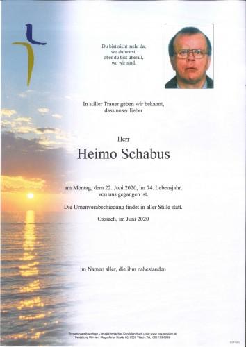 Heimo Schabus