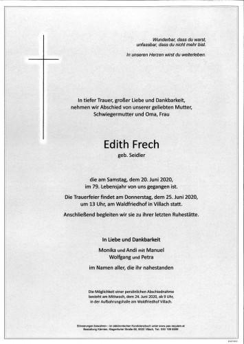 Edith Frech