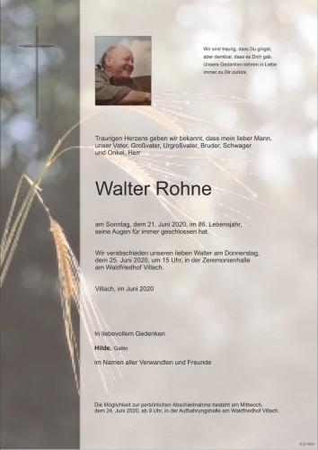 Walter Rohne