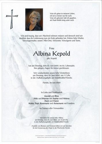 Albina Maria Kepold