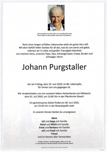 Johann Purgstaller
