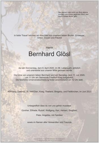 Bernhard Glösl