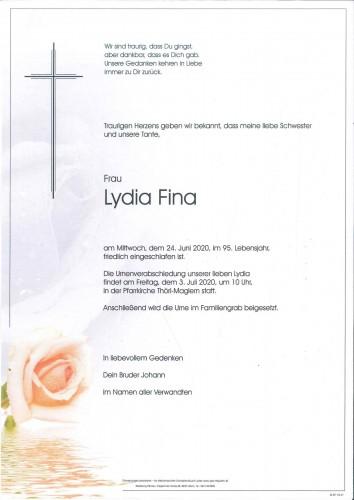 Lydia Fina