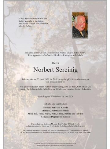Norbert Sereinig