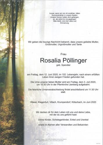 Rosalia Pöllinger