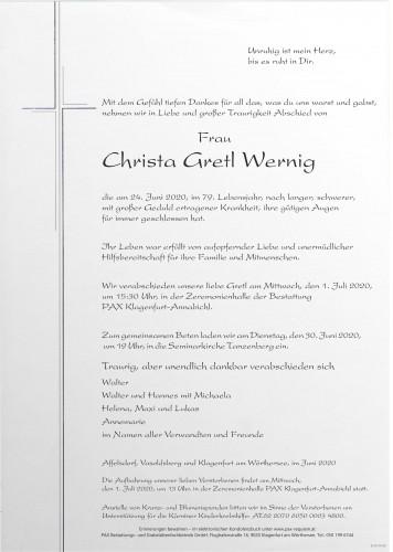 Christa Gretl Wernig