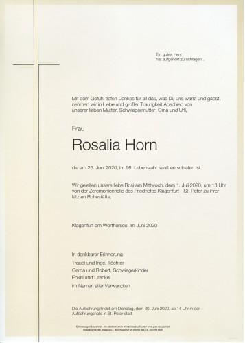 Rosalia Horn