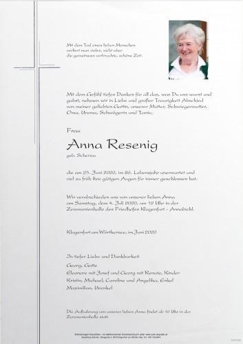 Anna Resenig