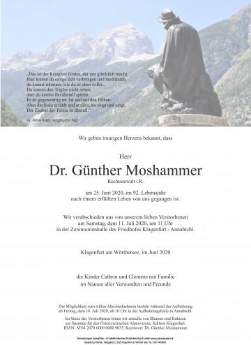 Dr. Günther Moshammer