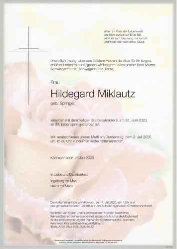 Hilda Miklautz