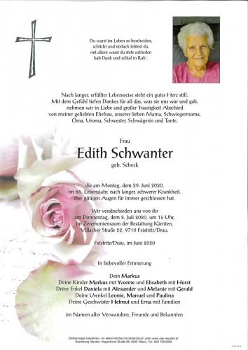 Edith Schwanter