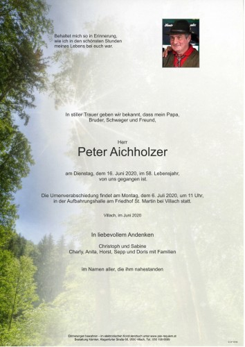 Peter Aichholzer