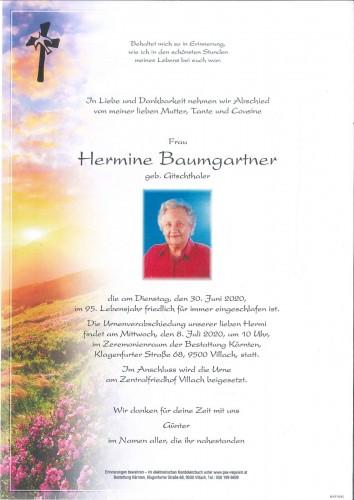 Hermine Baumgartner