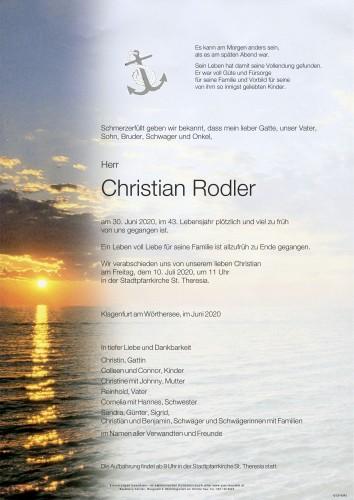 Christian Rodler
