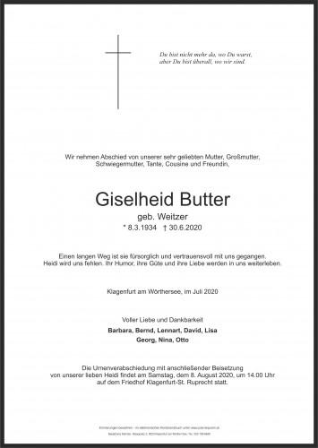 Giselheid Butter