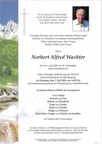 Norbert Alfred Wachter