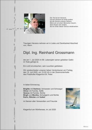 Dipl. Ing. Reinhard Grossmann