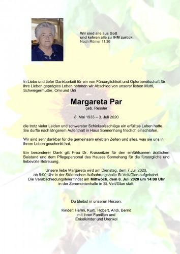 Margareta Par