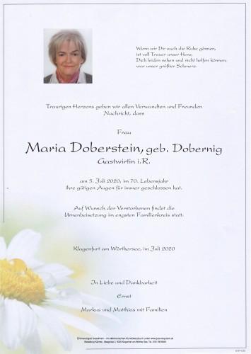 Maria Doberstein
