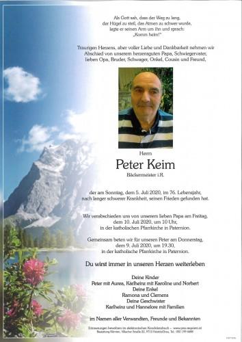 Peter Keim