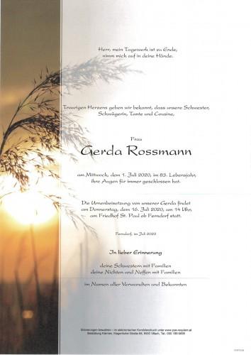 Gerda Rossmann