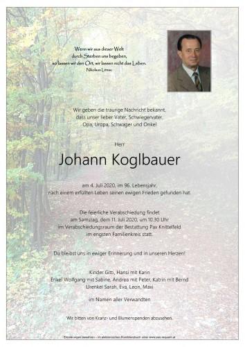 Johann Koglbauer