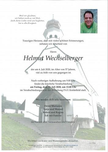 Helmut Wechselberger