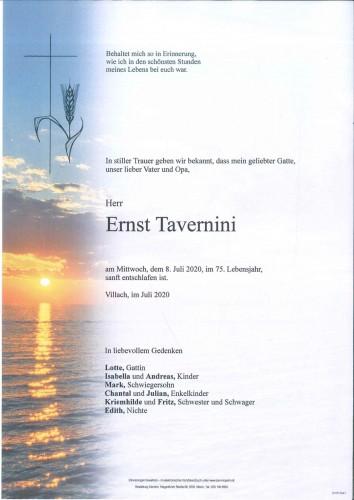 Ernst Tavernini