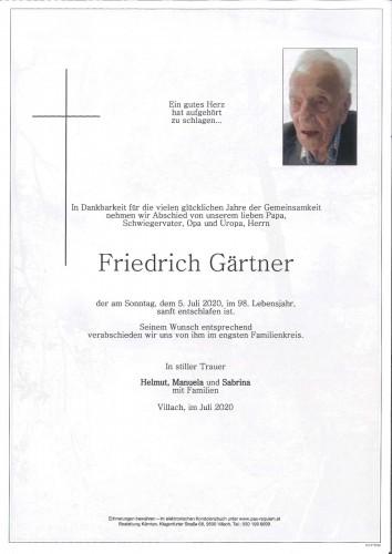 Friedrich Gärtner
