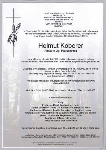 Helmut Koberer