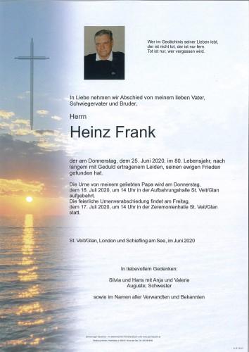 Heinz Frank