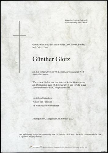 GLOTZ Günther