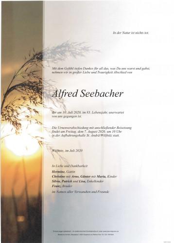 Alfred Seebacher