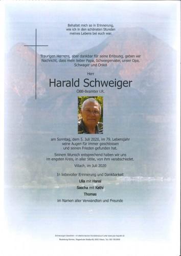 Harald Schweiger