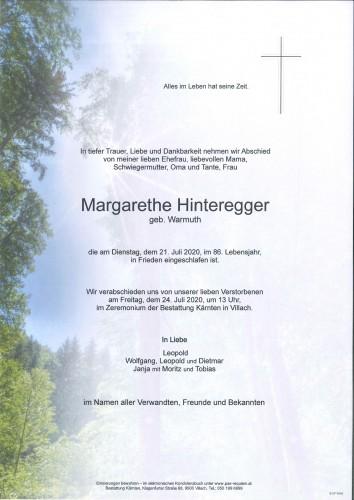 Margarethe Hinteregger