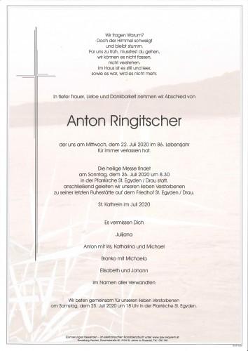 Anton Ringitscher