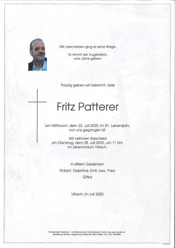 Fritz Patterer
