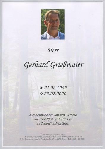 Grießmaier Gerhard