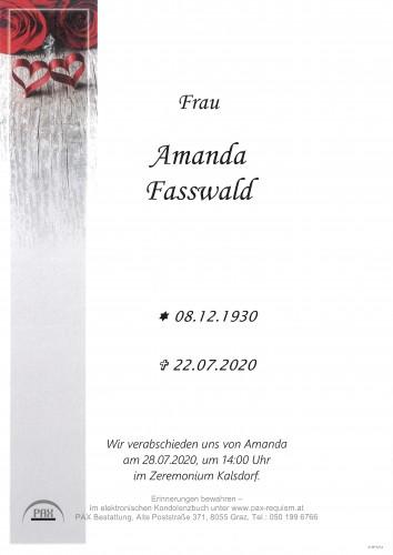 Amanda Fasswald