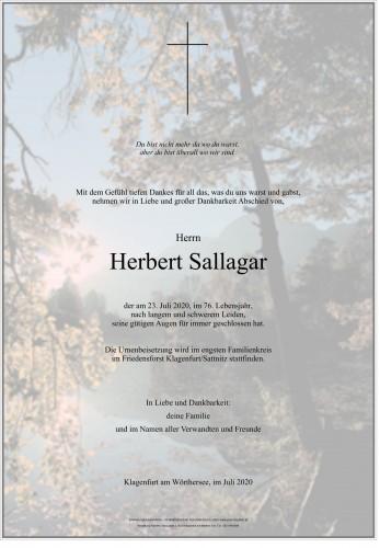 Herbert Sallagar
