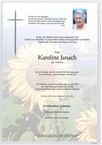 Karoline Janach